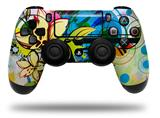 Vinyl Decal Skin Wrap compatible with Sony PlayStation 4 Dualshock Controller Floral Splash (PS4 CONTROLLER NOT INCLUDED)
