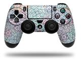 Vinyl Decal Skin Wrap compatible with Sony PlayStation 4 Dualshock Controller Flowers Pattern 08 (PS4 CONTROLLER NOT INCLUDED)