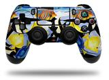 Vinyl Decal Skin Wrap compatible with Sony PlayStation 4 Dualshock Controller Tropical Fish 01 Black (PS4 CONTROLLER NOT INCLUDED)