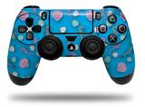Vinyl Decal Skin Wrap compatible with Sony PlayStation 4 Dualshock Controller Seahorses and Shells Blue Medium (PS4 CONTROLLER NOT INCLUDED)