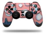 Vinyl Decal Skin Wrap compatible with Sony PlayStation 4 Dualshock Controller Starfish and Sea Shells Pink (PS4 CONTROLLER NOT INCLUDED)