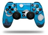 Vinyl Decal Skin Wrap compatible with Sony PlayStation 4 Dualshock Controller Starfish and Sea Shells Blue Medium (PS4 CONTROLLER NOT INCLUDED)