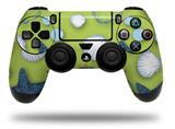 Vinyl Decal Skin Wrap compatible with Sony PlayStation 4 Dualshock Controller Starfish and Sea Shells Sage Green (PS4 CONTROLLER NOT INCLUDED)