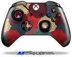 Flowers Pattern 04 - Decal Style Skin fits Microsoft XBOX One Wireless Controller