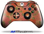Flowers Pattern Roses 06 - Decal Style Skin fits Microsoft XBOX One Wireless Controller