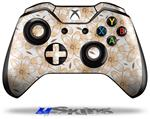 Flowers Pattern 15 - Decal Style Skin fits Microsoft XBOX One Wireless Controller
