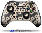Locknodes 02 Peach - Decal Style Skin fits Microsoft XBOX One Wireless Controller