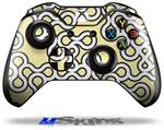 Locknodes 03 Yellow Sunshine - Decal Style Skin fits Microsoft XBOX One Wireless Controller