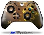 Bokeh Butterflies Yellow - Decal Style Skin fits Microsoft XBOX One Wireless Controller