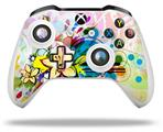 Skin Wrap for Microsoft XBOX One S / X Controller Floral Splash