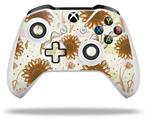 Skin Wrap for Microsoft XBOX One S / X Controller Flowers Pattern 19