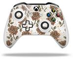 Skin Wrap for Microsoft XBOX One S / X Controller Flowers Pattern Roses 20