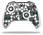 Skin Wrap for Microsoft XBOX One S / X Controller Locknodes 04 Hunter Green