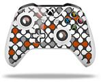 Skin Wrap for Microsoft XBOX One S / X Controller Locknodes 05 Burnt Orange