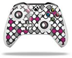 Skin Wrap for Microsoft XBOX One S / X Controller Locknodes 05 Hot Pink (Fuchsia)