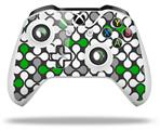 Skin Wrap for Microsoft XBOX One S / X Controller Locknodes 05 Green