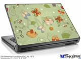 Laptop Skin (Medium) - Birds Butterflies and Flowers