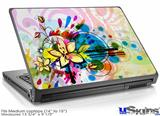 Laptop Skin (Medium) - Floral Splash