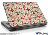 Laptop Skin (Medium) - Lots of Santas