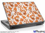 Laptop Skin (Medium) - Flowers Pattern 14