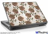 Laptop Skin (Medium) - Flowers Pattern Roses 20