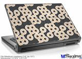 Laptop Skin (Medium) - Locknodes 02 Peach