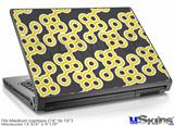 Laptop Skin (Medium) - Locknodes 02 Yellow