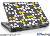 Laptop Skin (Medium) - Locknodes 04 Yellow