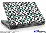 Laptop Skin (Medium) - Locknodes 05 Seafoam Green