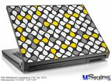 Laptop Skin (Medium) - Locknodes 05 Yellow