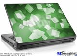 Laptop Skin (Medium) - Bokeh Squared Green