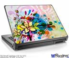 Laptop Skin (Small) - Floral Splash