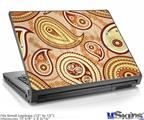 Laptop Skin (Small) - Paisley Vect 01