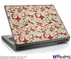 Laptop Skin (Small) - Lots of Santas