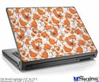 Laptop Skin (Small) - Flowers Pattern 14