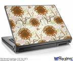Laptop Skin (Small) - Flowers Pattern 19