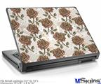 Laptop Skin (Small) - Flowers Pattern Roses 20
