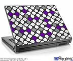Laptop Skin (Small) - Locknodes 05 Purple
