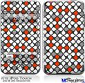 iPod Touch 2G & 3G Skin - Locknodes 05 Red