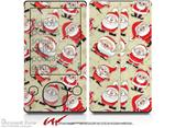 Lots of Santas - Decal Style skin fits Zune 80/120GB  (ZUNE SOLD SEPARATELY)