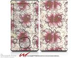 Flowers Pattern 23 - Decal Style skin fits Zune 80/120GB  (ZUNE SOLD SEPARATELY)