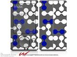 Locknodes 04 Royal Blue - Decal Style skin fits Zune 80/120GB  (ZUNE SOLD SEPARATELY)