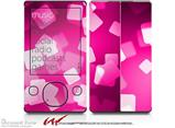 Bokeh Squared Hot Pink - Decal Style skin fits Zune 80/120GB  (ZUNE SOLD SEPARATELY)