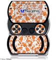Flowers Pattern 14 - Decal Style Skins (fits Sony PSPgo)