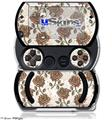 Flowers Pattern Roses 20 - Decal Style Skins (fits Sony PSPgo)