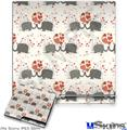 Sony PS3 Slim Decal Style Skin - Elephant Love