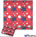 Sony PS3 Slim Decal Style Skin - Starfish and Sea Shells Coral