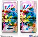 Zune HD Skin - Floral Splash