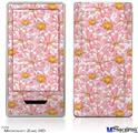 Zune HD Skin - Flowers Pattern 12