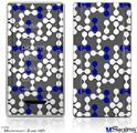 Zune HD Skin - Locknodes 04 Royal Blue